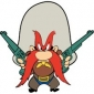 Yosemite Sam played by Mel Blanc