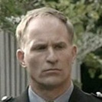 Sergeant Bill Hobart played by David Whiteley