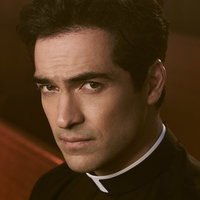 Father Tomas Ortega played by Alfonso Herrera
