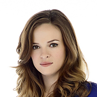 Caitlin Snow played by Danielle Panabaker
