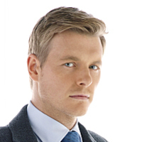 Det. Eddie Thawne played by Rick Cosnett