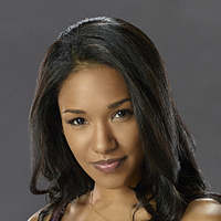 Iris West played by Candice Patton