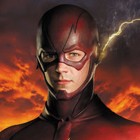The Flash played by Grant Gustin