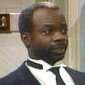 Geoffrey played by Joseph Marcell