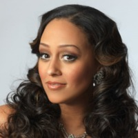 Melanie Barnett played by Tia Mowry-Hardrict