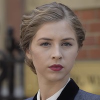 Emma Garland played by Hermione Corfield