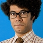 Moss played by Richard Ayoade