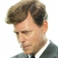 John F. Kennedy played by Greg Kinnear