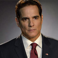 President Thomas Westwood played by Yul Vazquez