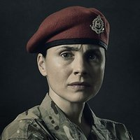 Eve Stone played by Laura Fraser