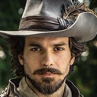 Aramis played by Santiago Cabrera