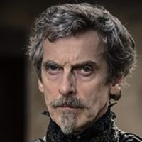 Cardinal Richelieu played by Peter Capaldi