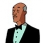 Alfred Pennyworth played by Efrem Zimbalist Jr.