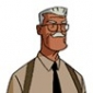 Commissioner Jim Gordon played by Bob Hastings