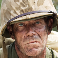 Sgt. Elmo 'Gunny' Haney played by Gary Sweet