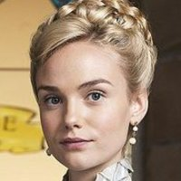Denise Lovett played by Joanna Vanderham