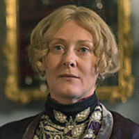 Miss Audrey played by Sarah Lancashire