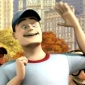 Annoying Guy in Crowd The Penguins of Madagascar