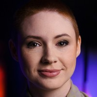 Karen Gillan  The Real History of Science Fiction (UK)