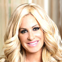 Kim Zolciak played by Kim Zolciak