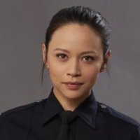 Lucy Chen played by Melissa O'Neil