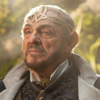 Eventine Elessedil played by John Rhys-Davies