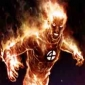 Human Torch played by Quinton Flynn