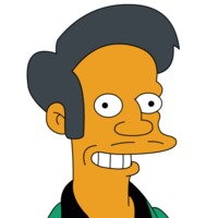 Apu Nahasapeemapetilon played by Hank Azaria