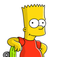 Bart Simpson played by Nancy Cartwright
