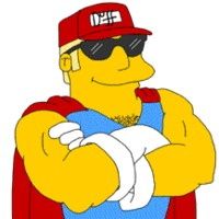 Duffman The Simpsons