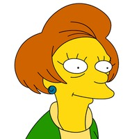 Edna Krabappel played by Marcia Wallace