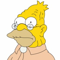 Grampa Simpson played by Dan Castellaneta