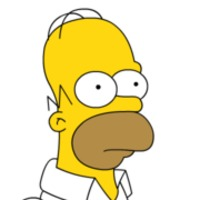Homer Simpson played by Dan Castellaneta