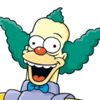 Krusty the Clown played by Dan Castellaneta