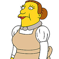 Lunchlady Doris Freeedman The Simpsons