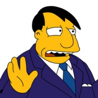 Mayor Quimby played by Dan Castellaneta