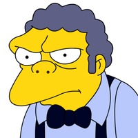 Moe Szyslak played by Hank Azaria