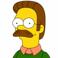 Ned Flanders played by Harry Shearer