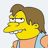 Nelson Muntz The Simpsons