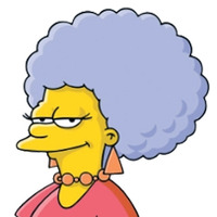 Patty Bouvier The Simpsons