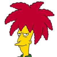 Sideshow Bob played by Kelsey Grammer