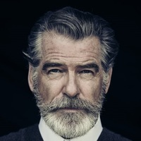 Eli McCullough played by Pierce Brosnan