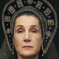 Margaret Beaufort played by Harriet Walter