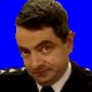 Insp. Raymond C. Fowler played by Rowan Atkinson