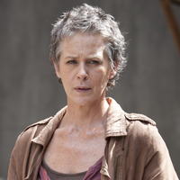 Carol Peletier played by Melissa Suzanne McBride