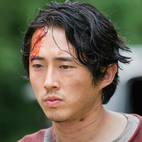 Glenn Rhee played by Steven Yeun