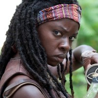 Michonne played by Danai Gurira
