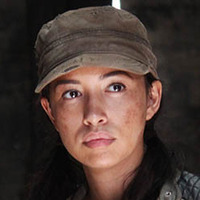 Rosita Espinosa played by Christian Serratos