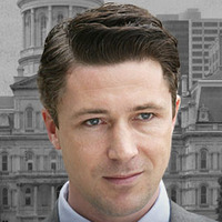 Councilman Thomas 'Tommy' Carcetti played by Aidan Gillen