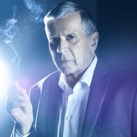 The Smoking Man played by William B. Davis
